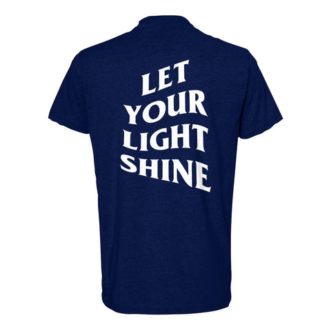 Let Your Light Shine Tees/Navy