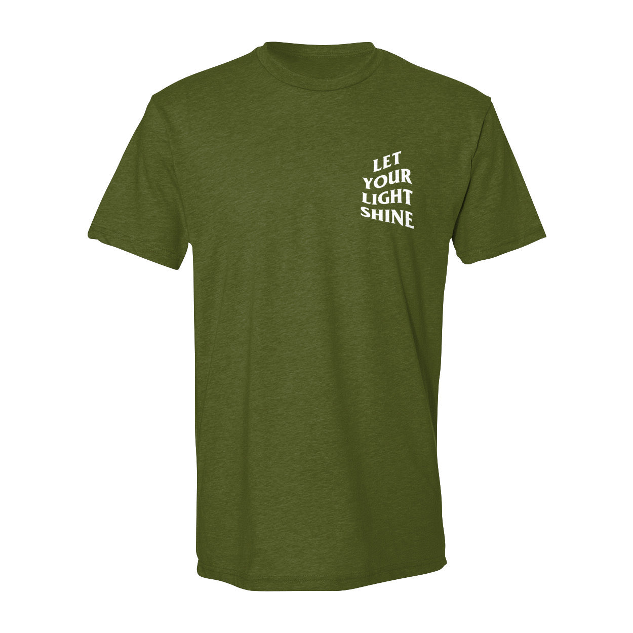 Let Your Light Shine Tees/Olive