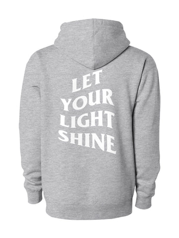 Light Shine Hoodie/Grey