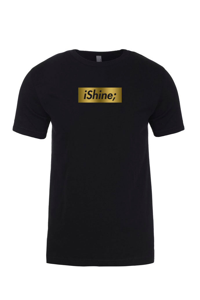 BOX SHINE Black Tee