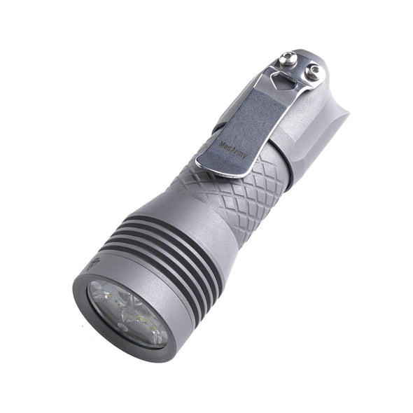 MecArmy PS16 Titanium Ultra Bright EDC Flashlight Limited Edition