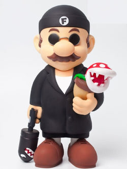 Limited Edition Super Mario Leon:The Professional Killer Action PVC Toy Collectible Figurine Model Mushroom Christmas Gift Kids