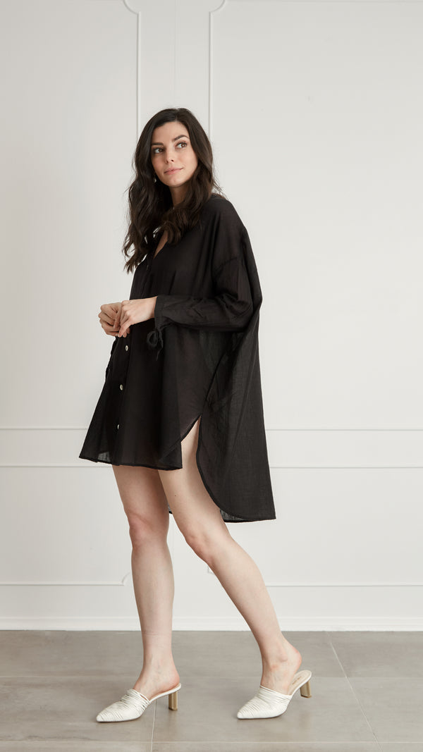 Isla Tunic - Black