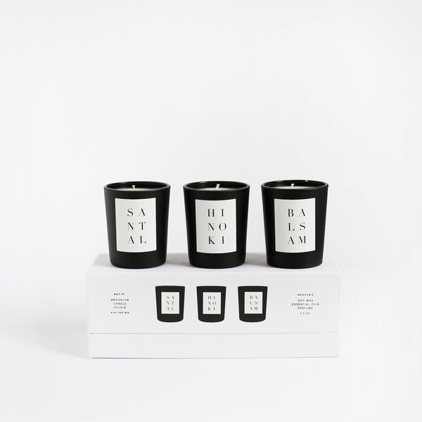 Noir Votive Set - Woods