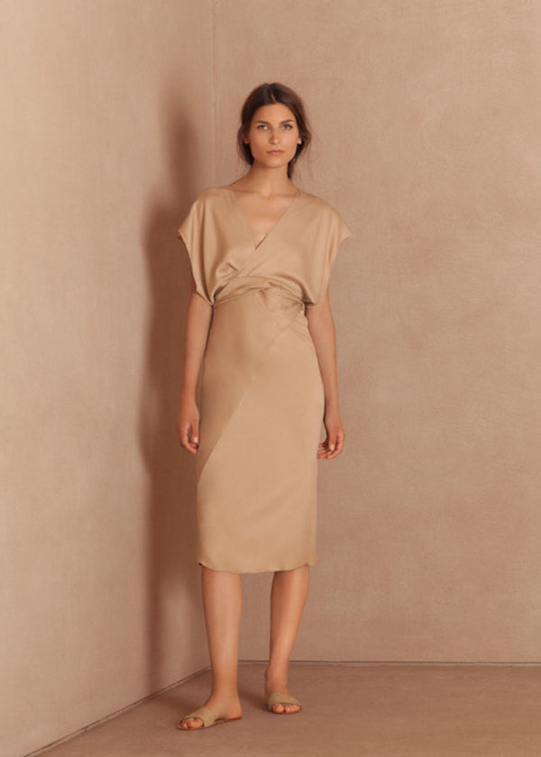 Caza Dress- Nude
