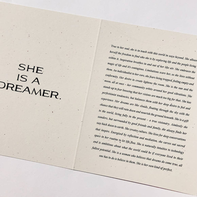 The Dreamer Card