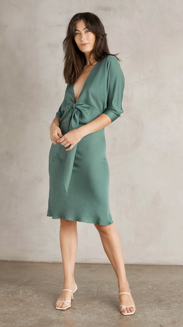 Mara Dress - Amalfi Green