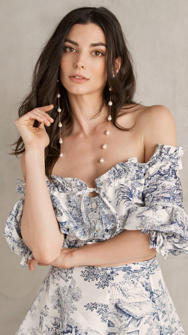 Claudinha Toile Blouse