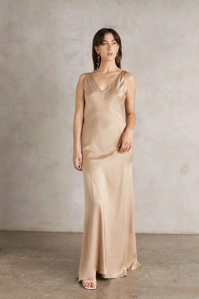 Donna Dress- Nude