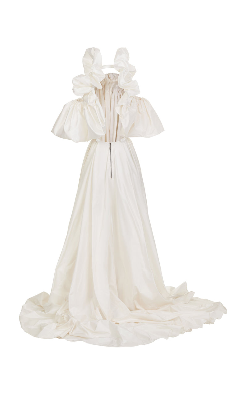 Hyacinth Ruched Gown