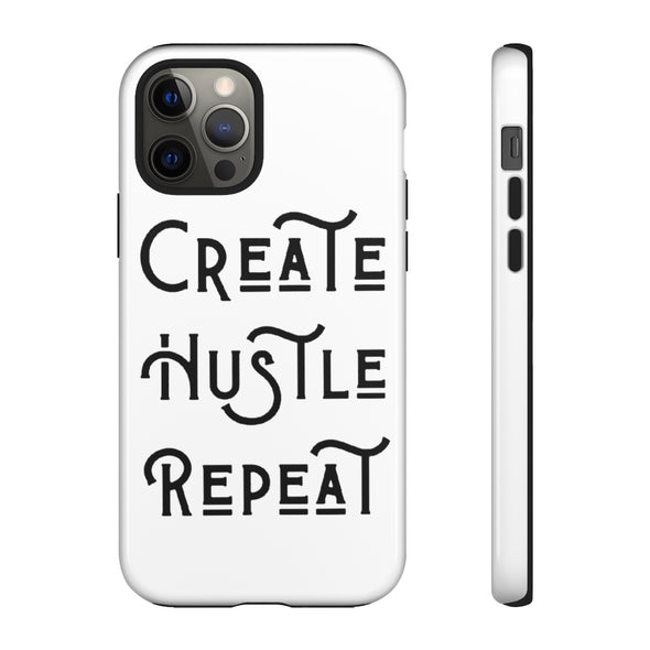 Create Hustle Repeat - Signature Phone Case