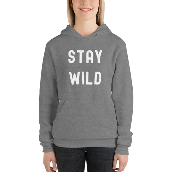 STAY WILD ~ Light Weight Hoodie