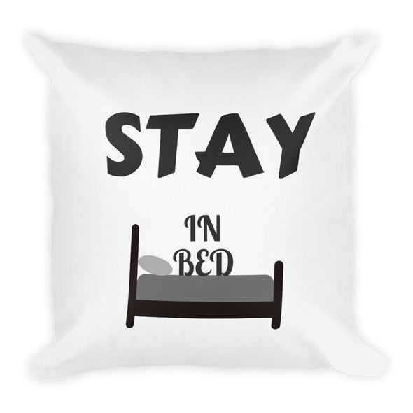 STAY IN BED ~ White Premium Pillow