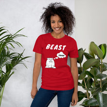 Load image into Gallery viewer, Beast ~ Thinking About Food ~ Short-Sleeve T-Shirt