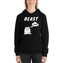 Load image into Gallery viewer, Beast ~ Thinking About Food ~ Lightweight Hoodie
