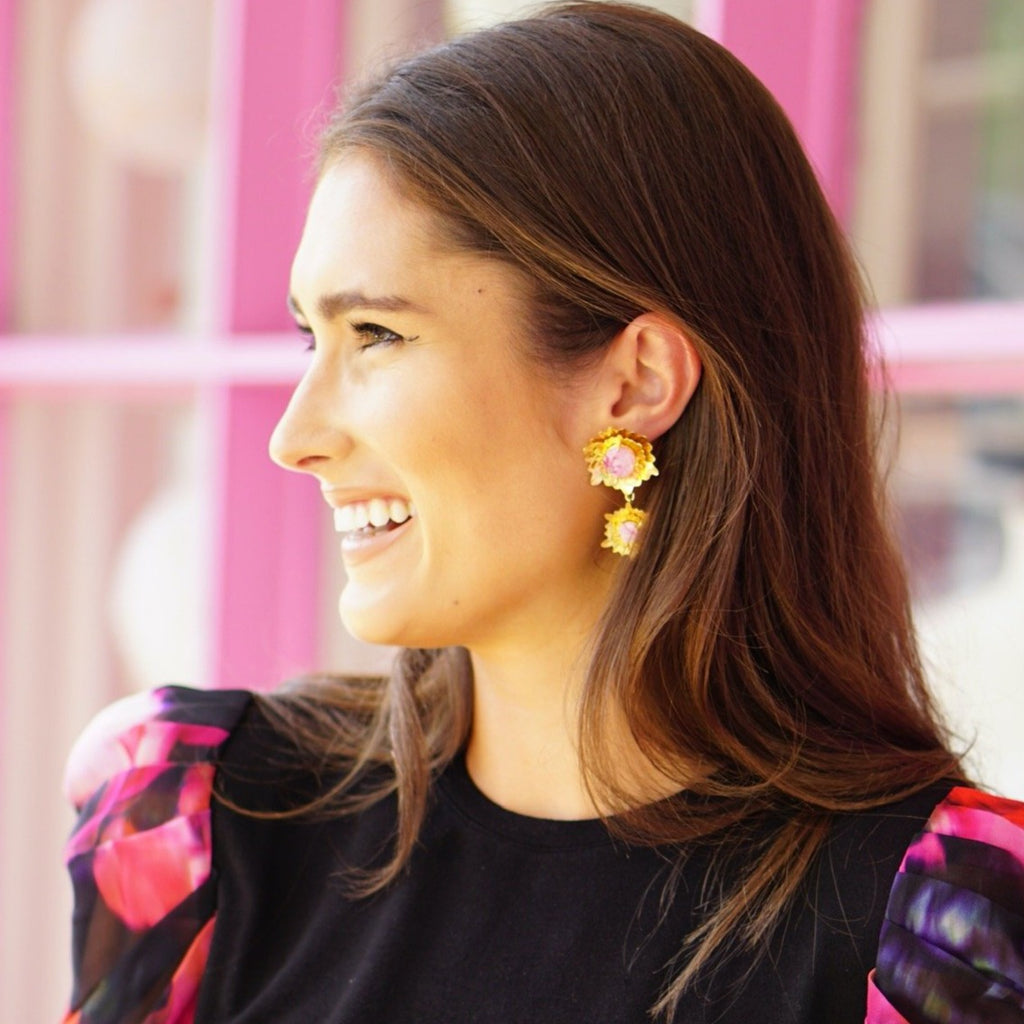 Maeve Earrings — Double