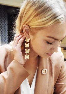 Coralie Butterfly Earrings
