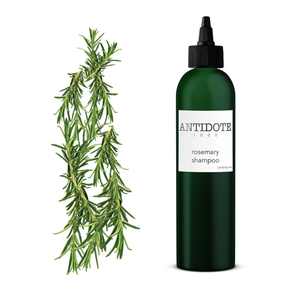 How to give your hair a clean slate - ANTIDOTE Rosemary Detox Shampoo