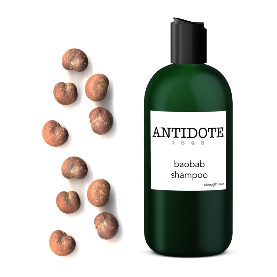 Strength training for your hair - ANTIDOTE Baobab Shampoo and Conditioner