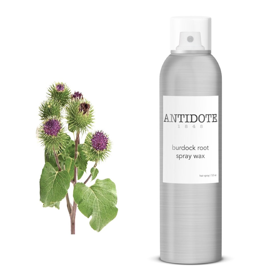 How to add volume to fine hair - ANTIDOTE Burdock Root Spray Wax