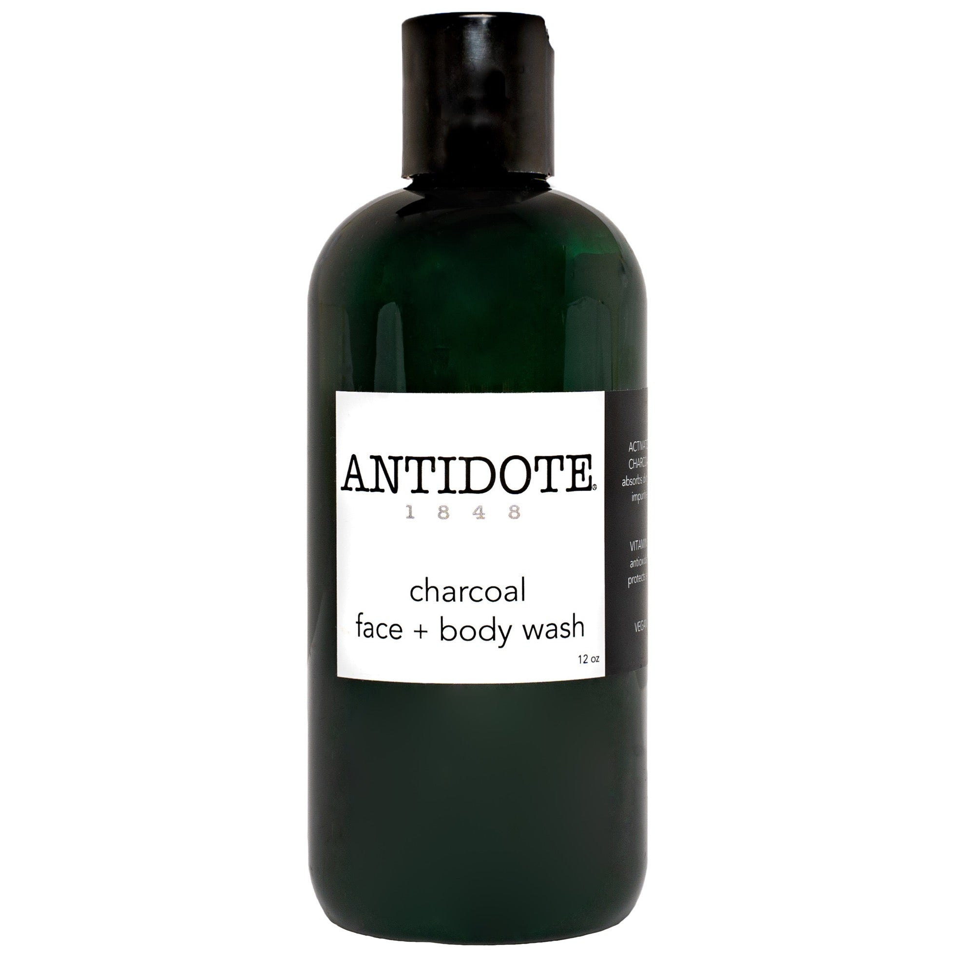 Charcoal Face + Body Wash