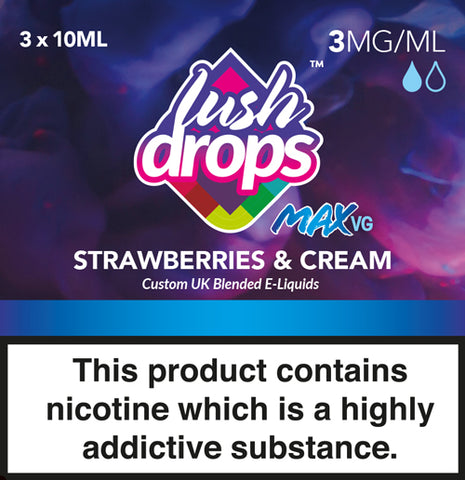 Lush Drops Strawberries & Cream