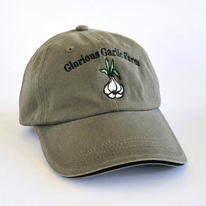 Glorious Garlic Farm -Dusty Green Farm Hat