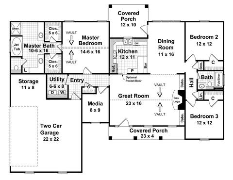 Ranch House Plans - What Makes Them Great for Families? on ranch house design, ranch house elevations, ranch house construction, farm plan layout,