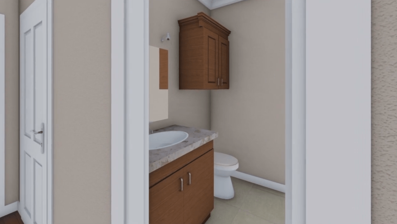 HPG-1888B-1 toilet in home plans