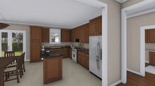 HPG-1888B-1 kitchen in home plans