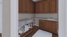 HPG-1888B-1 laundry room in home plans