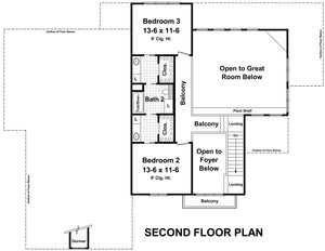 HPG-2706-1: The Andover Lane House Plans House Plan Gallery