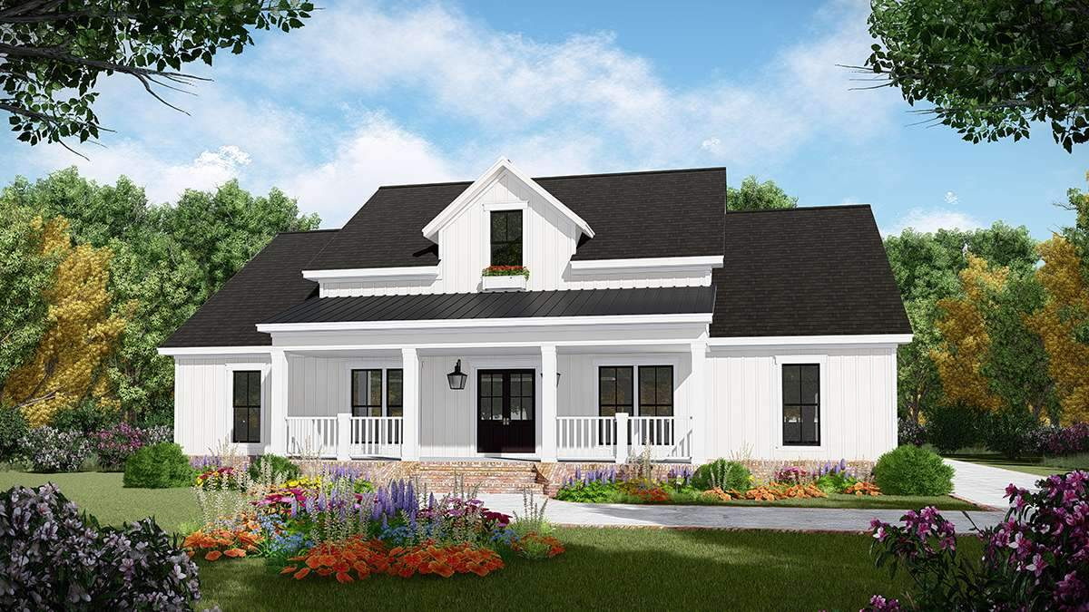 HPG-2107-1: Oak Hill House Plans House Plan Gallery