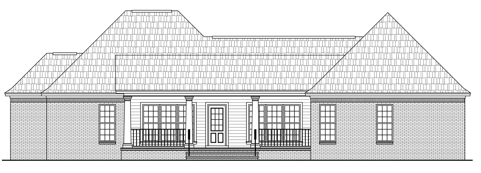 HPG-18006-1: The Allen Ridge House Plans House Plan Gallery