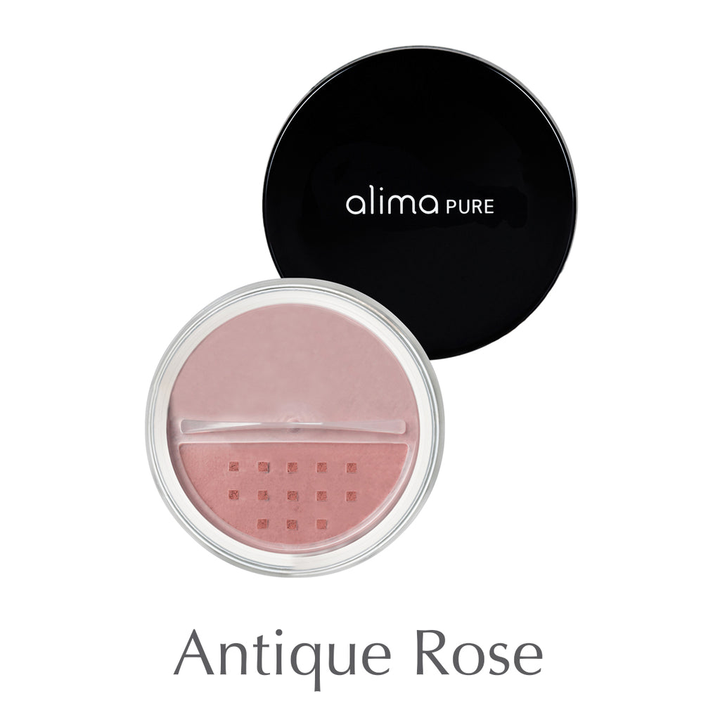 ALIMA PURE - Loose mineral blush - Antique rose