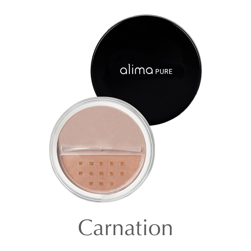 ALIMA PURE - Loose mineral blush - Carnation