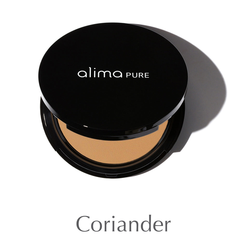ALIMA PURE - Pressed Foundation with Rosehip Antioxidant Complex - Coriander