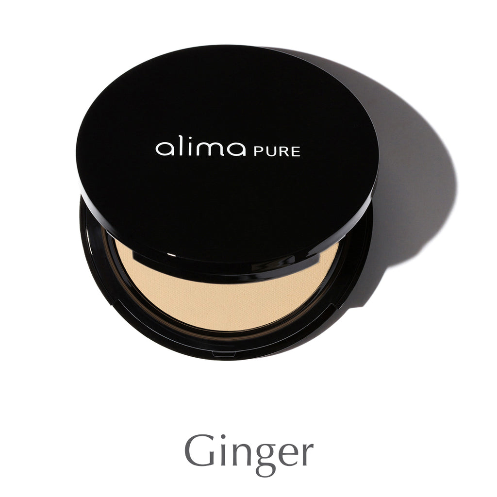 ALIMA PURE - Pressed Foundation with Rosehip Antioxidant Complex - Ginger