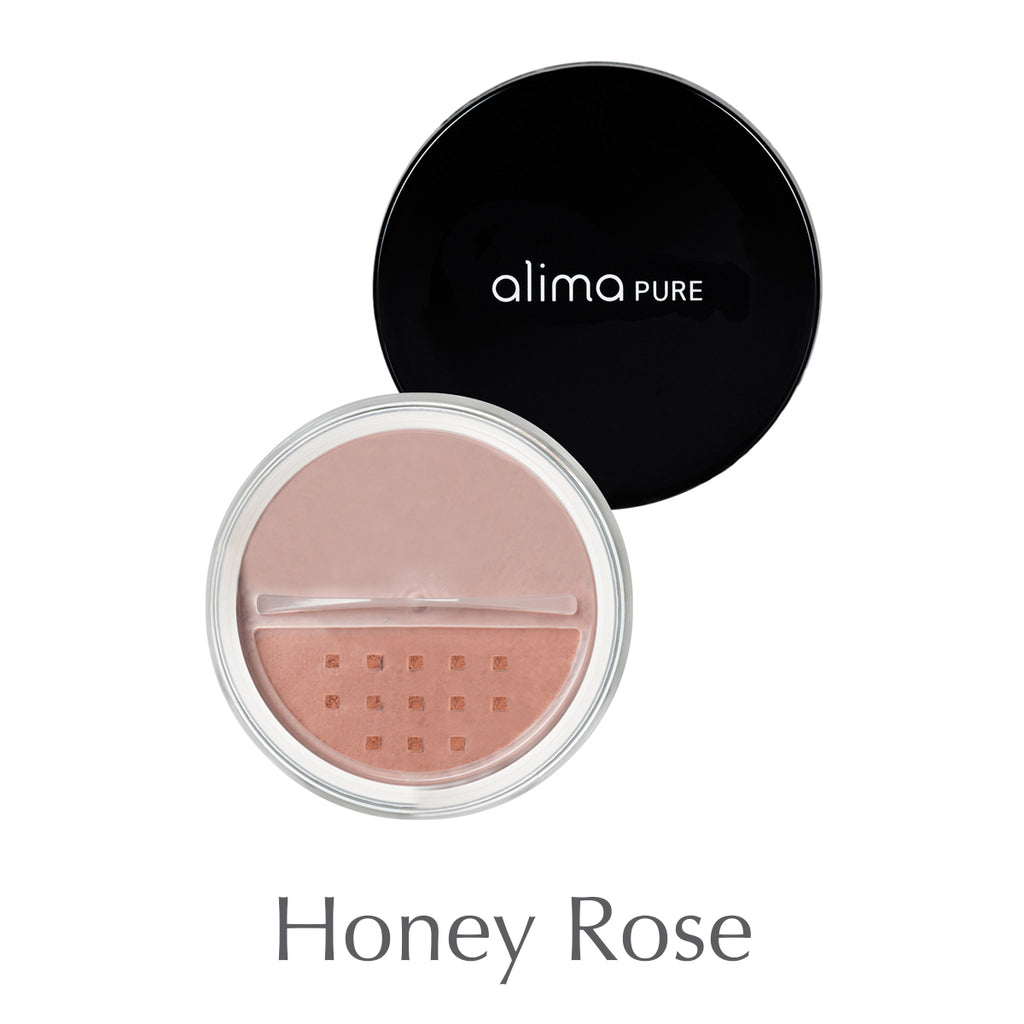 ALIMA PURE - Loose mineral blush - Honey rose