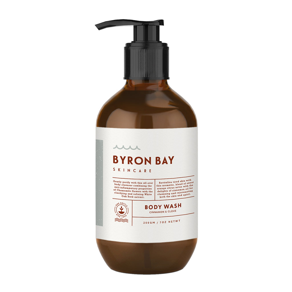 BYRON BAY SKINCARE Body wash - Cinnamon & Clove