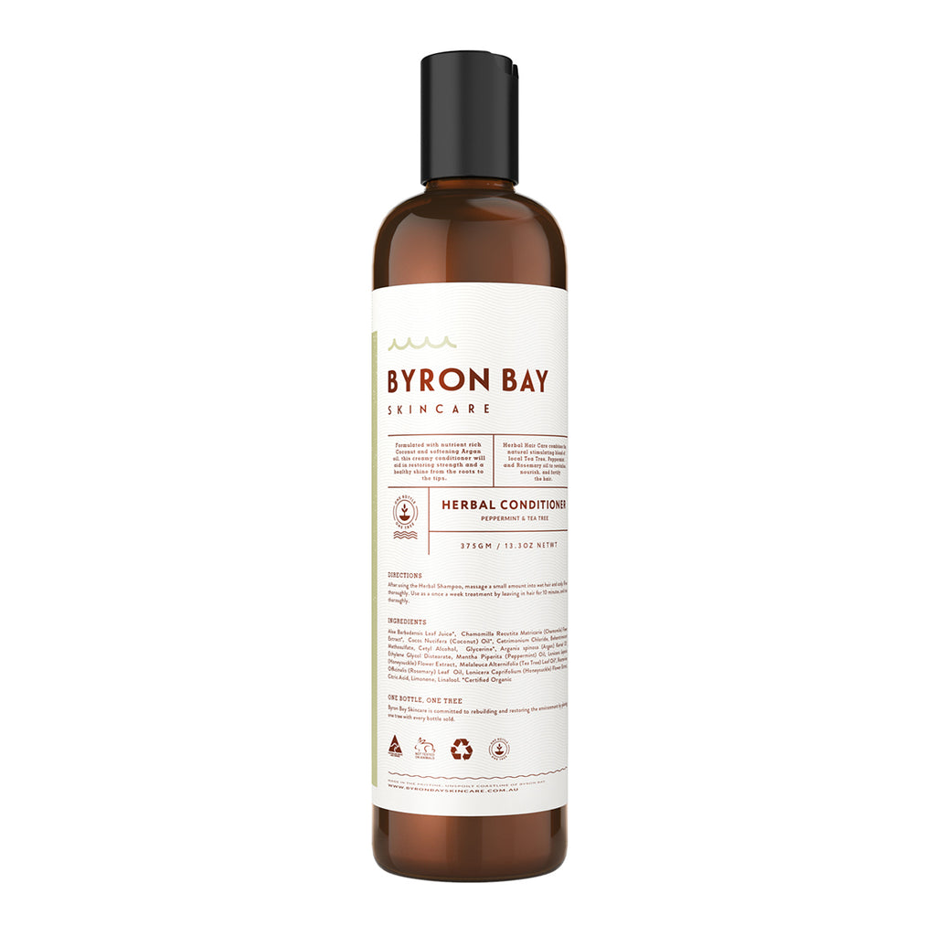 BYRON BAY SKINCARE Herbal conditioner - Peppermint & Tea Tree