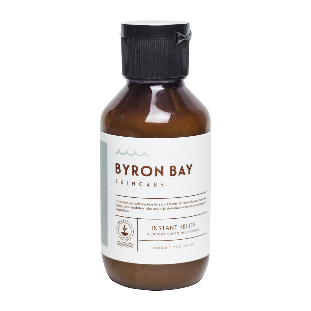 BYRON BAY SKINCARE Instant relief - Aloe vera & chamomile flower