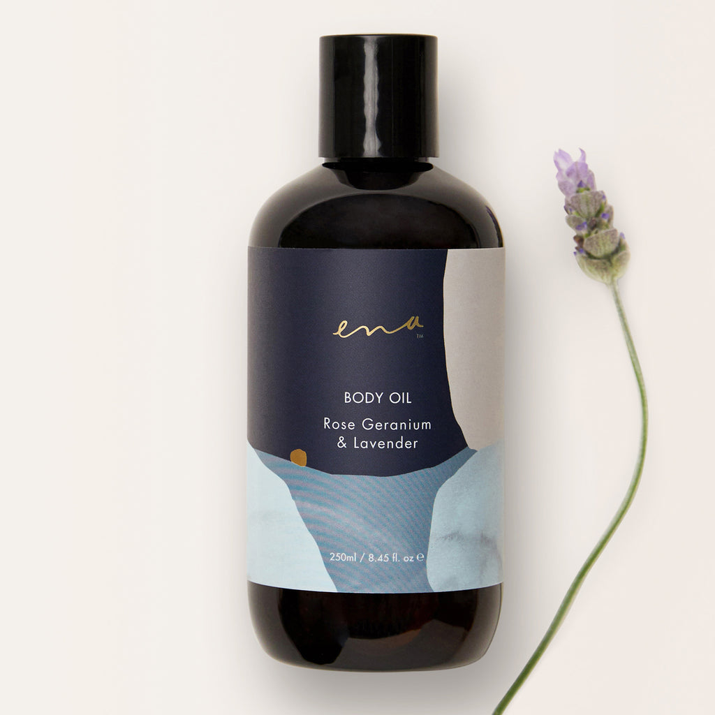 ENA - Rose Geranium / Lavender Body Oil
