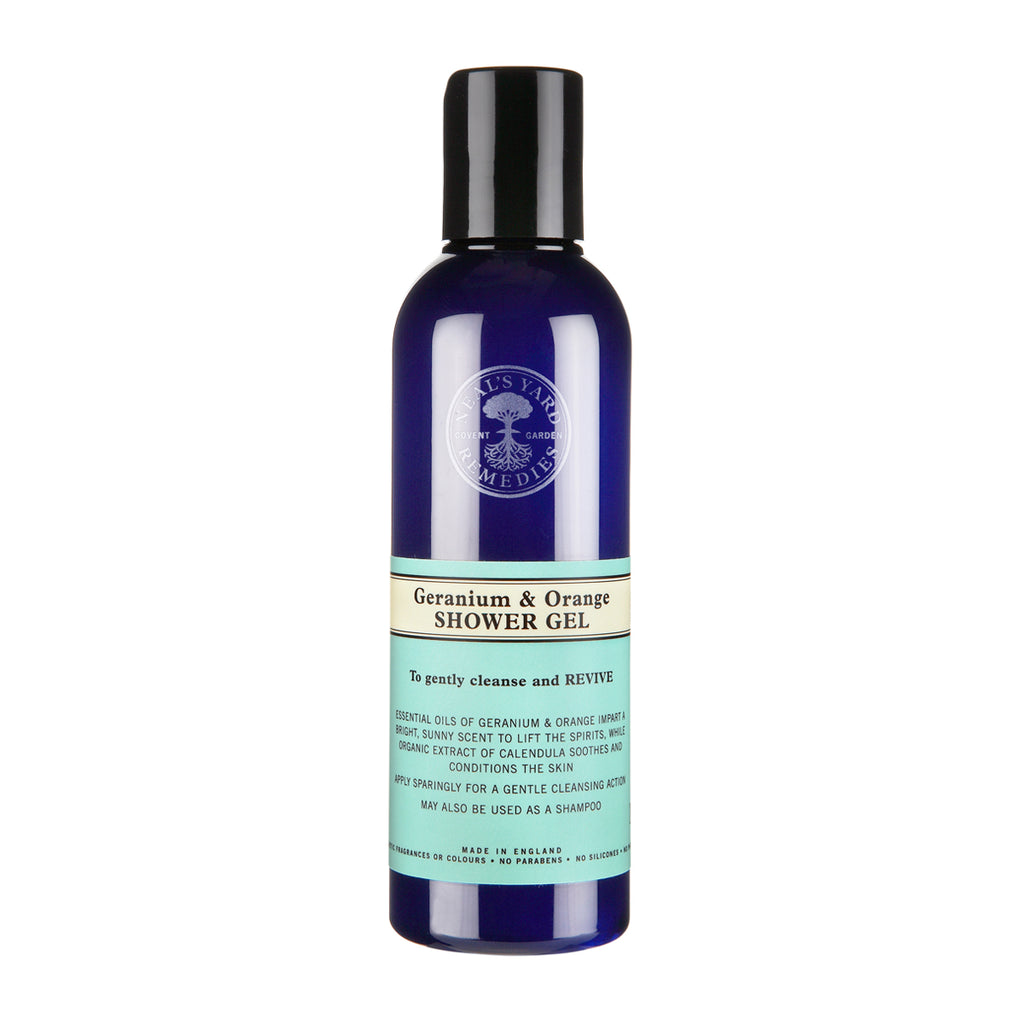 NEALS YARD - Geranium and Orange Shower Gel