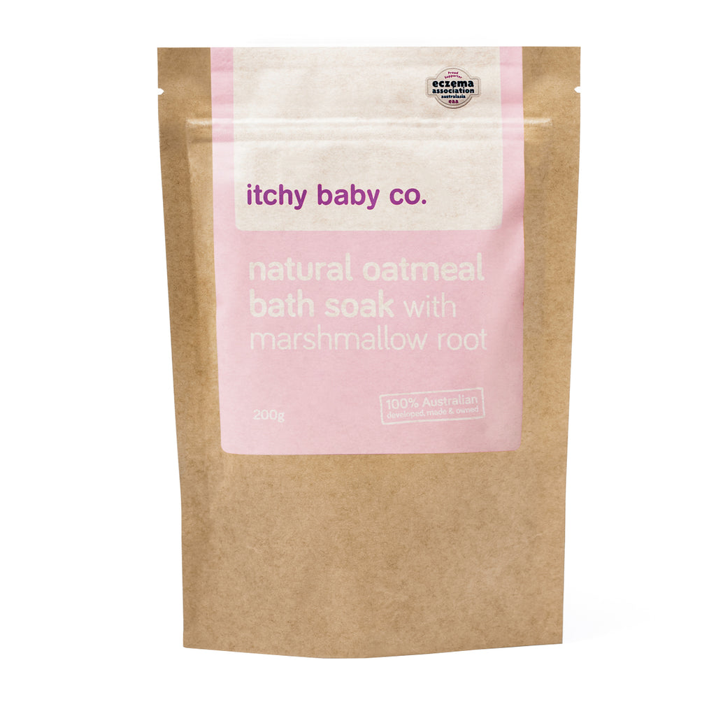 ITCHY BABY CO - Natural Oatmeal Bath Soak with Marshmallow