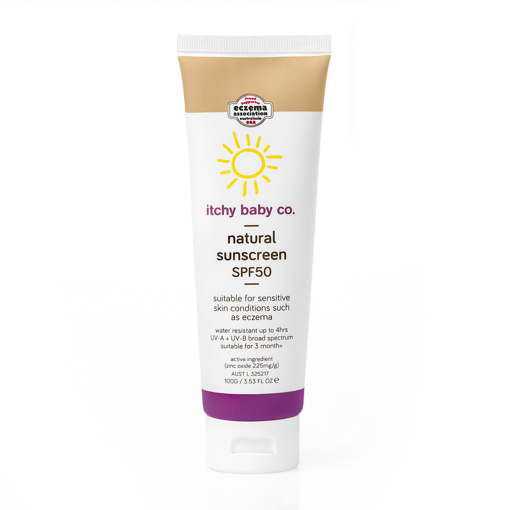 ITCHY BABY CO - Natural Sunscreen SPF50