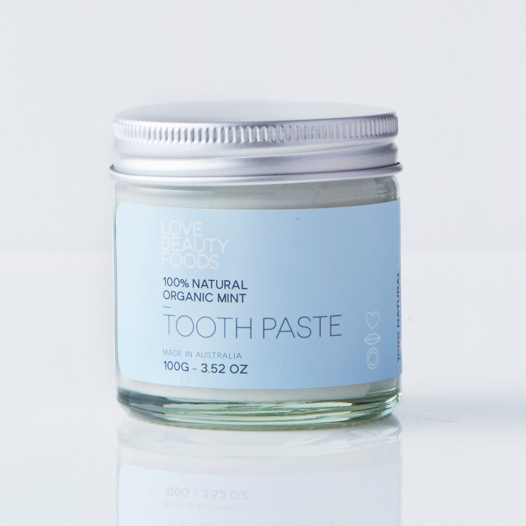 LOVE BEAUTY FOOD - Organic Mint Toothpaste