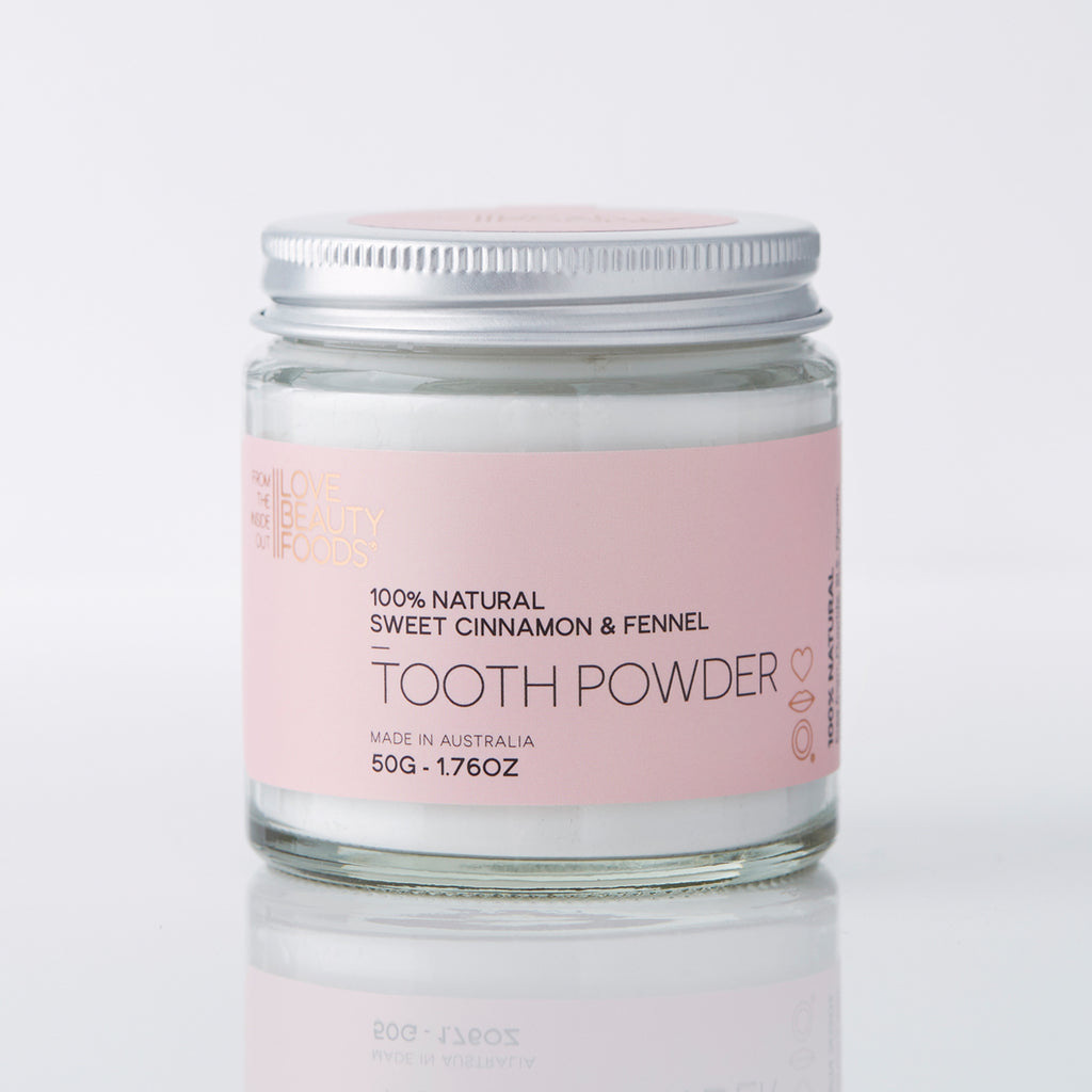 LOVE BEAUTY FOOD - Sweet Cinnamon & Fennel Toothpowder