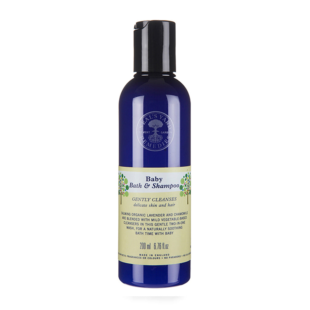 NEALS YARD REMEDY - Baby Bath Wash & Shampoo