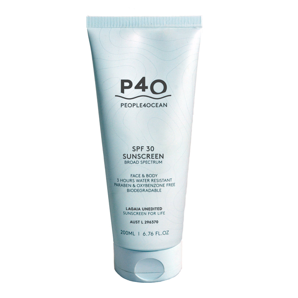 PEOPLE4OCEAN -  SPF 30+ Face & Body Sunscreen